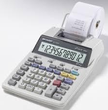 sharp el 1801v. sharp el-1750v printing calculator el 1801v l