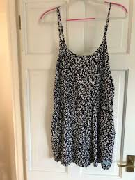 Superdry Ladies Navy Bird Print Playsuit Uk Size Xl Brand New With Tags In Long Stratton Norfolk Gumtree