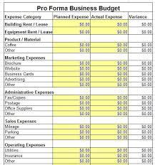 Business Pro Forma Rome Fontanacountryinn Com