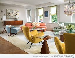 contemporary furniture for living room. 15 Fab Mid-century Modern Living Rooms Contemporary Furniture For Room