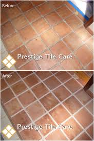 cleaning saltillo tile floor