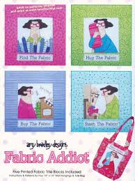 Pattern AMY BRADLEY DESIGNS Fabric Addict Quilt Applique Wall ... & Pattern AMY BRADLEY DESIGNS Fabric Addict Quilt Applique Wall Hanging  Pattern Adamdwight.com