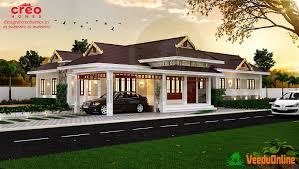 single story house plans kerala style 4 bhk nalukettu model single floor home design at 1500
