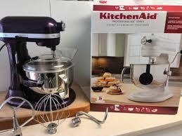 unboxing kitchenaid professional 600 series 6 quart 5 7l bowl lift stand mixer you
