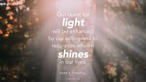 Daily Quote See The Light In Life Mormon Channel