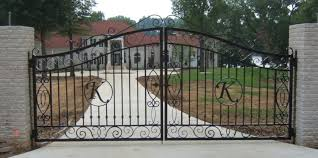 metal fence gate designs. Large Intricate Custom Wrought Iron Gates Are A Perfect First Impression When Entering This Home. Metal Fence Gate Designs J