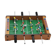 table football. 14 inch soccer table football board game kids toy family party games wood portable travel