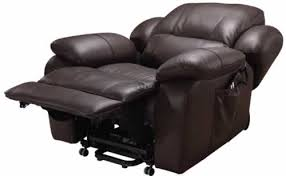 ... Incredible Black Leather Reclined Comfortable Chairs For Watching Tv  Extendable Leg Rest Rolling Function Moveable Seating ...