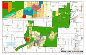 2009 prairie grove zoning map