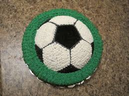 How To Decorate A Soccer Ball Cake Your Happy Baker Soccer Ball Birthday Cake 50