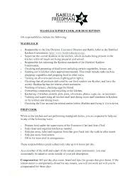 Kitchen Manager Job Description Atlis Co