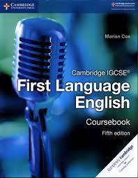 Cambridge IGCSE® First Language English Coursebook (Cambridge International  IGCSE) : Cox, Marian: Amazon.de: Bücher