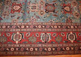 light blue antique persian tabriz oriental rug 48820 border nazmiyal