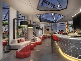 W Hotel Shanghai Studio Waffles Simple Interior Design Shanghai