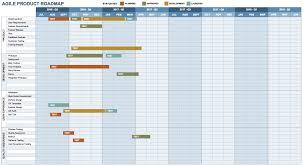roadmap templates excel free product roadmap templates smartsheet