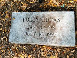 Polly Lucas (1913-1997) - Find A Grave Memorial