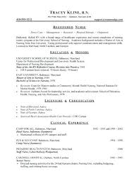 Resume Format For Nurses Classy Registered Nurse Resume Template Awesome Nursing School Resume