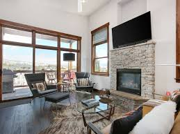 mountain modern furniture. Frisco Condo Rental - Living Room With High Ceilings And Large Windows. Mountain Modern Furniture