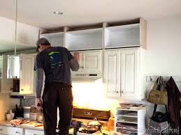 Extending Kitchen Cabinets To The Ceiling {Sawdust U0026 Embryos}