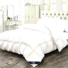 white velvet comforter pink feather down winter thick duvet bedding twin queen king size quilt for