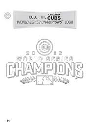 Small Picture Chicago Cubs Coloring Pages akmame