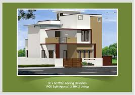 30 x 50 west facing house 1900 sqft approx 3 bhk