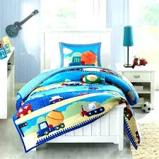 construction toddler bedding transportation
