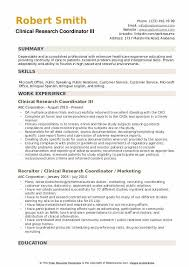 Research Resume Samples Clinical Research Coordinator Resume Samples Qwikresume