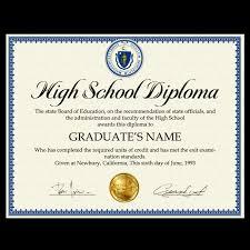 Fake High School Diploma All 50 Usa Layout Matches
