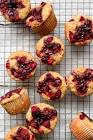 banana and jelly muffins