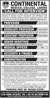Professor, Assistant / Associate Professor - Pediatrics, Ent And ...
