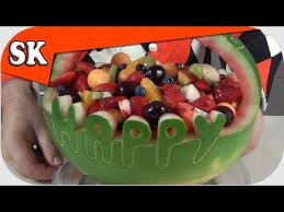 One of the foods that he's sensitive to is grains. Healthy Birthday Cake Low Fat Alternative Birthday Cake Fruit Salad Youtube
