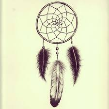 Simple Dream Catcher Tattoo