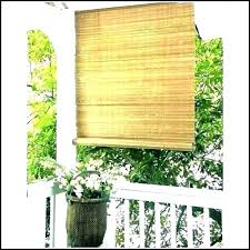 outdoor roll up shades bamboo window blinds curtain patio roller coolaroo