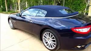 Dashcam Maserati GranCabrio POV - YouTube