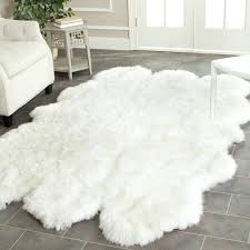 faux fur area rug faux fur area rug canada