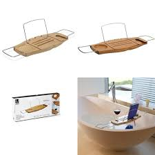 umbra aquala bathtub caddy rack walnut hurn and best ers bathtub trays