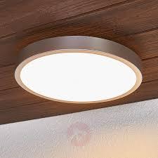 Liyan Silberne Led Deckenlampe Fürs Bad Kaufen Lampenweltde