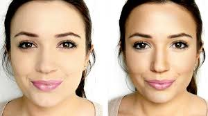 Contour And Highlight Face Cheeks Nose Eyes