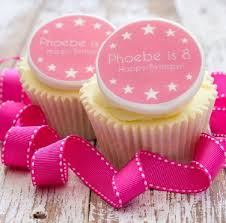 Birthday Girl Cupcake Decorations By Just Bake Notonthehighstreetcom