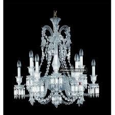 12 lights crystal chandelier baccarat chandelier for