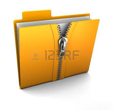 Risultati immagini per cartella compressa zip