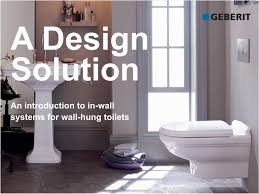 Modern bathroom design 2016 Small Space Geberitadesignsolutionjpg Rabat 2013 Geberit Presents Modern Bathroom Design Enabled By Toilet System