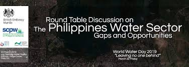 round table discussion on the philippines water sector gaps and opportunities
