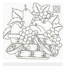Pin by OkieDee on Digi Images | Fruit coloring pages, Basket ...