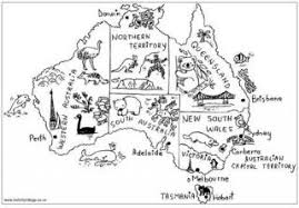 Small Picture Australia Colouring Pages