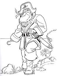 Disegno Di Vecchio Pirata Da Colorare Disegni Da Colorare E