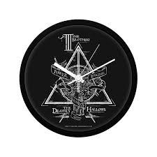 harry potter triangle wallclock licensed by warner bros usa mc sid razz