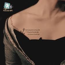 Hc 210nejnovější Krásy Taty Dočasné Tetování Na Tělo Samolepky