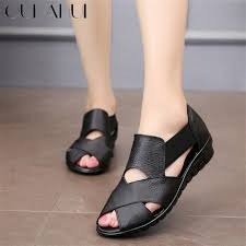 Oukahui Brand <b>2019 Summer</b> Gladiator Rome Casual Sandals ...